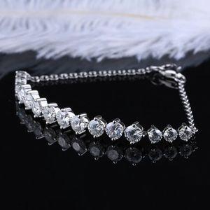 3 carat moissanite bracelet